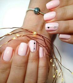 Classy Nails, Trendy Nails, Gel Nail Art, Manicure And Pedicure, Super Cute Nails, Gel Nail Designs, Types Of Nails, Fabulous Nails, Bling Nails