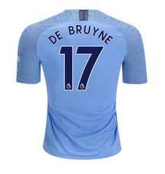 c6f760b9111 Kevin De Bruyne  17 Manchester City Home jersey 2018-19 blue -free shipping