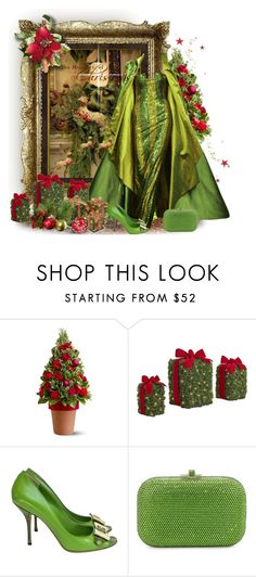 """Holiday Miracles"" by kmlvr9 ❤ liked on Polyvore featuring Tokyo Rose, Gucci and Judith Leiber"
