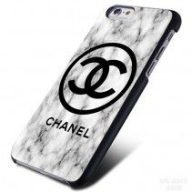 Marble pattern Coco chanel iPhone Cases Case