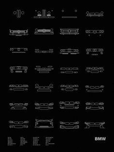Auto Icon Screen Print Series: BMW – NOMO Design