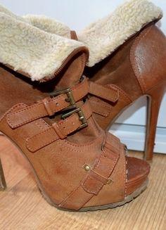 Kup mój przedmiot na #vintedpl http://www.vinted.pl/damskie-obuwie/botki/7722347-piekne-brazowe-buciki-36