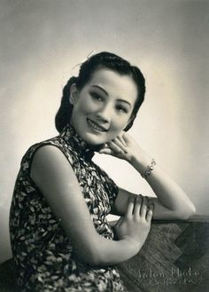 Zhou Xuan, old Shanghai famous singer and movie star.