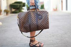 Weekend bag Keepall de Louis Vuitton