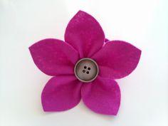 Polskie Handmade - spis blogów: DIY - Kwiatek z filcu