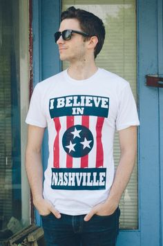 I BELIEVE IN NASHVILLE (T-SHIRT)
