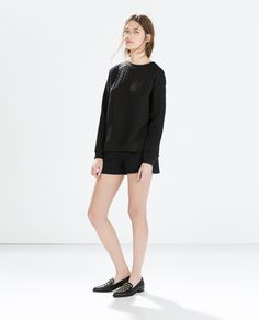 QUILTED TOP from Zara