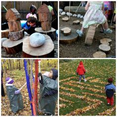 Reggio-Inspired Outdoor Environments from @Jennifer Kable