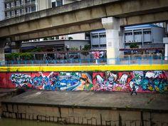 River Graffiti Art - Kuala Lumpur-2