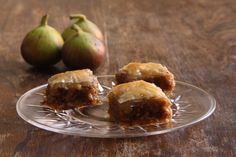 Fig, walnut and goat's cheese baklava