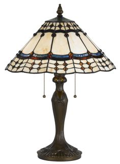 Cal Lighting Tiffany Table Lamp