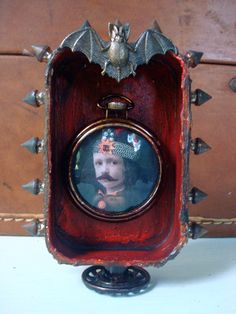 Wicked Children Altered Tin Gallery! - Vlad the Impaler as a child by amaryllisroze