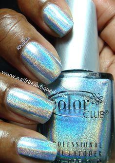 Color Club Blue Heaven | Nails Beautiqued