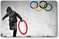 Olympics - London 2012 Hurdles Google Doodle