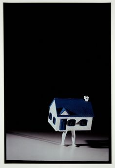 """Just like The Ghost Drum... """"Laurie Simmons, Walking House"""""""