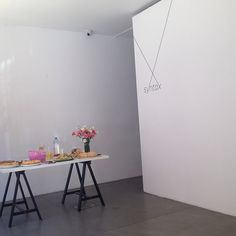 Brunch @ Syntax Lisbon with sculptor Iza Tarasewicz