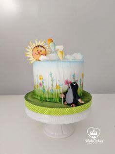 mole Cupcakes, Cupcake Cakes, Cake Icing, Fondant Cakes, Cakepops, Baby Girl Cakes, New Cake, Painted Cakes, Fashion Cakes