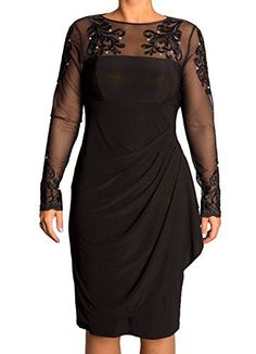 Xscape Embellished Illusion Faux-Wrap Dress, (6) Xscape http://www.amazon.com/dp/B00YI1WZYQ/ref=cm_sw_r_pi_dp_kgMAvb19T2E2C