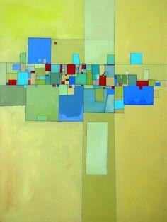 Community - acrylic on canvas 30x40 in by Deborah Batt