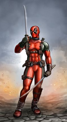 #Deadpool #Fan #Art. ( Deadpool) By: SirTiefling. [THANK U 4 PINNING!!]