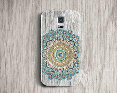 Samsung Galaxy S5 Case Bohemian S4 mini case wood by iDedeCase
