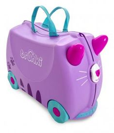 Trunki Gyermek Bőrönd - Cassie, a cica Must Have Travel Accessories, Cat Accessories, Kids Luggage, Hand Luggage, Travel Luggage, Ours Paddington, Trolley Bags, Purple Cat, Lilac