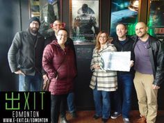 EXIT Edmonton 10534 82 Ave NW, Edmonton, AB T6E 2A4 E: edmonton@e-exit.ca P: (780) 705-0160 https://www.facebook.com/ExitEdmonton  Welcome to EXIT #Edmonton #escaperoom #gaming facility! Inside any one of our #adventures #players will #explore the different #realms of #ExitEdmonton, where you can display your #intelligence, #marvels and #artistry by #outwitting the #GameMaster that involves #solving #challenging #puzzles and #discovering #exciting #clues and #escaping within time limit.
