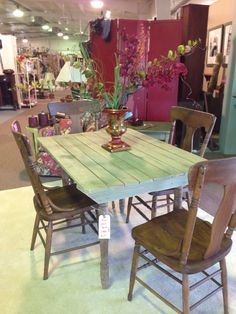 Fabulous farm table! Just in at Rockin B Antiques in Newnan $68 770 253 8730