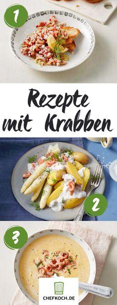 Rezepte mit Krabben: Nordsee-Feeling pur