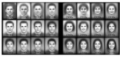 By mining a vast database of high-school yearbook photos, a machine-vision algorithm reveals the change in hairstyles, clothing, and even smiles over the last century.