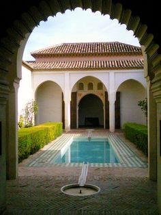 The Alcazaba in Malaga: http://www.europealacarte.co.uk/blog/2010/12/16/malaga-attractions-alcazaba-malaga/