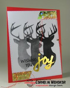 Card by Cornelia for the ARTplorations stencil blog hop