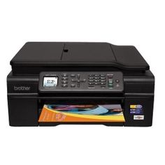 Brother MFC-J450DW Wireless Inkjet All-in-One Printer Scanner Copier Fax w/1.8 Color LCD Display (No Ink)