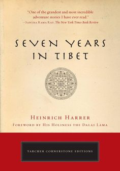 Seven Years in Tibet is one of the best travel books of all time. For more awesome travel book suggestions click the pin.