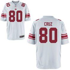 Nike Men's New York Giants Customized Game White Jersey
