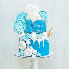 463 отметок «Нравится», 8 комментариев — Торты Москва (@katy_cakesmsk) в Instagram: «Доброе утро!!! У меня снова торт с меренгами , но наконец не в розовом, а в сине -голубом цвете!!…»