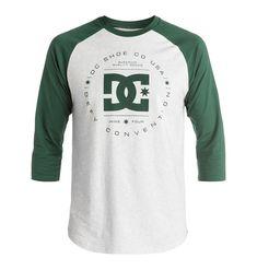 dcshoes, Rebuilt Raglan - Camiseta, PINECONE (gsm0)