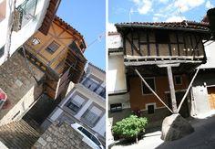 El valle de la Vera, un recorrido por las casas de entramados de madera…
