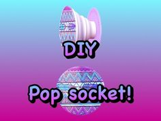 DIY PopSockets for Musical.ly - YouTube