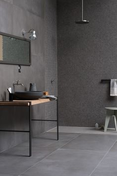 Powder, new concrete-look stoneware with an urban vibe. | Marazzi Your Space