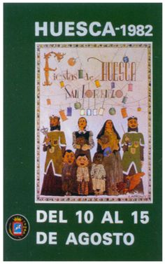 Cartel Fiestas de San Lorenzo 1982