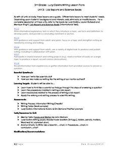 Lab Report For Primary Grades  Science Grade