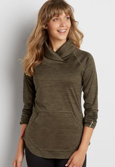 spacedye pullover with shawl neck (original price, $39.00) available at #Maurices