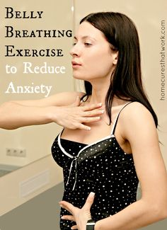 Shallow breathing contributes to anxiety and panic attacks. This practice of deliberate, deep breathing stimulates the parasympathetic nervous system (PNS), which helps place the body at rest. #anxiety #panicattack #breathe