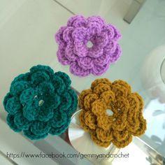 Free Pattern: Lovely Flower Crochet