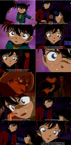 Broken Heart and Black Alarm Part 5 Episode 309 Shinichi Kudo, Conan Edogawa, Ran Mouri,  Shuichi Akai