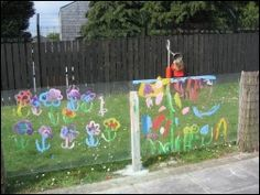 outdoor easel wall - Google Search