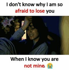 I think I should stop doing this ! True Love Quotes, Sad Quotes, Life Quotes, Girly Attitude Quotes, Girly Quotes, Teen Quotes, Afraid To Lose You, Crazy Girl Quotes, Reality Quotes