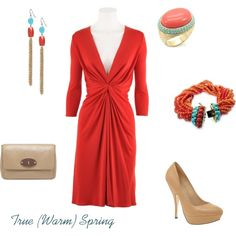 Red for True Springs, created by enlightenedshopper on Polyvore