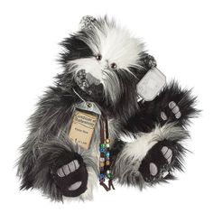 Suki Teddy Bear Finley - Silver Tag Bear - Collection 4
